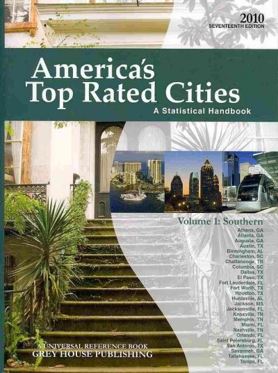America's top-rated citiesa a statistical handbook